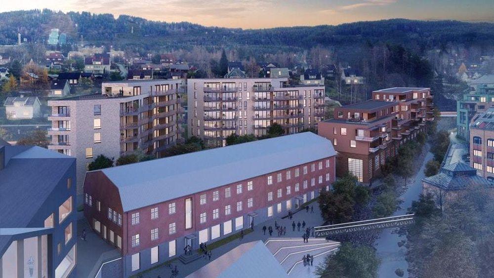 Mesnakvartalet i Lillehammer sentrum, rett bak gården hvor tv-serien «Lillyhammer» ble spilt inn.