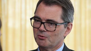 -Dette er den tøffeste situasjonen jeg har vært i som konsernsjef, sa Svein Richard Brandtzæg om Alunorte-situasjonen da han møtte pressen 15. mars.