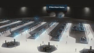 Slik ser The Boring Company for seg terminalen ved flyplassen.