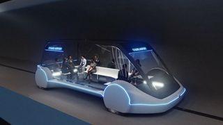 Disse enhetene skal frakte passasjerer til og fra O'Hare-flyplassen dersom planene gjennomføres.