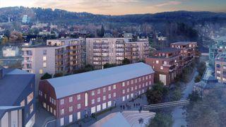 Veidekke skal bygge Mesnakvartalet på Lillehammer