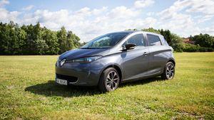 TEST: Renault Zoes rekkevidde