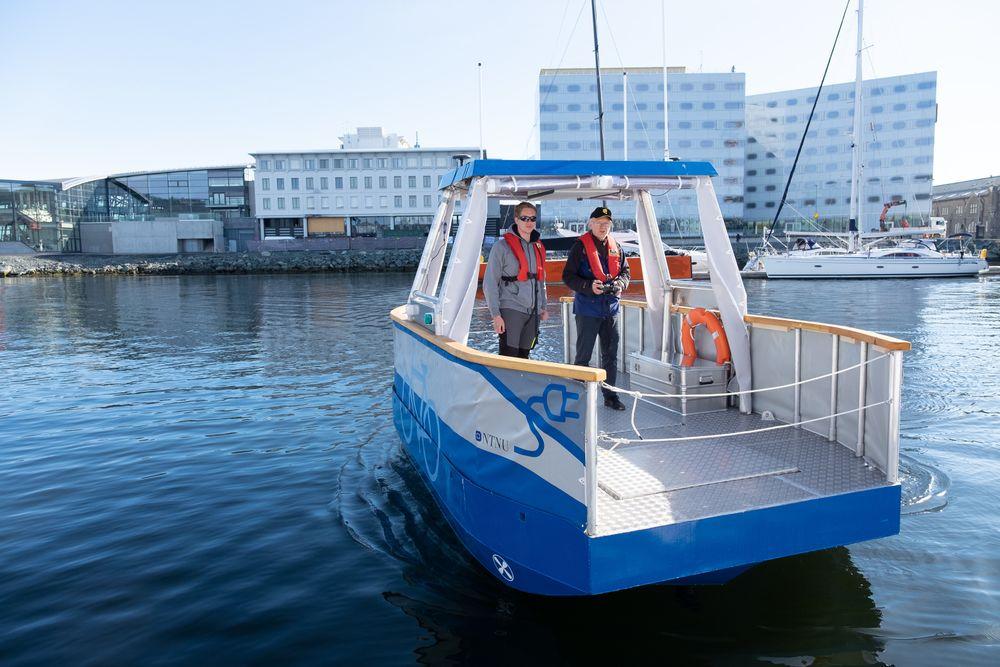 Miliampere skal gå i underkant av 100 meter mellom  Ravnkloa og Vestre kanalhavn.