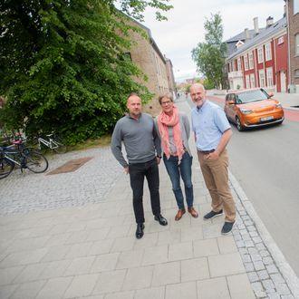 Store fordeler: Disse tre mener framtidens drivstoff heter biogass selv om norske politikere snakker mest om hydrogen og elektrisitet. Fra venstre mot høyre: Håvard Wollan, Karen Sund og Paal Jahre Nilsen.