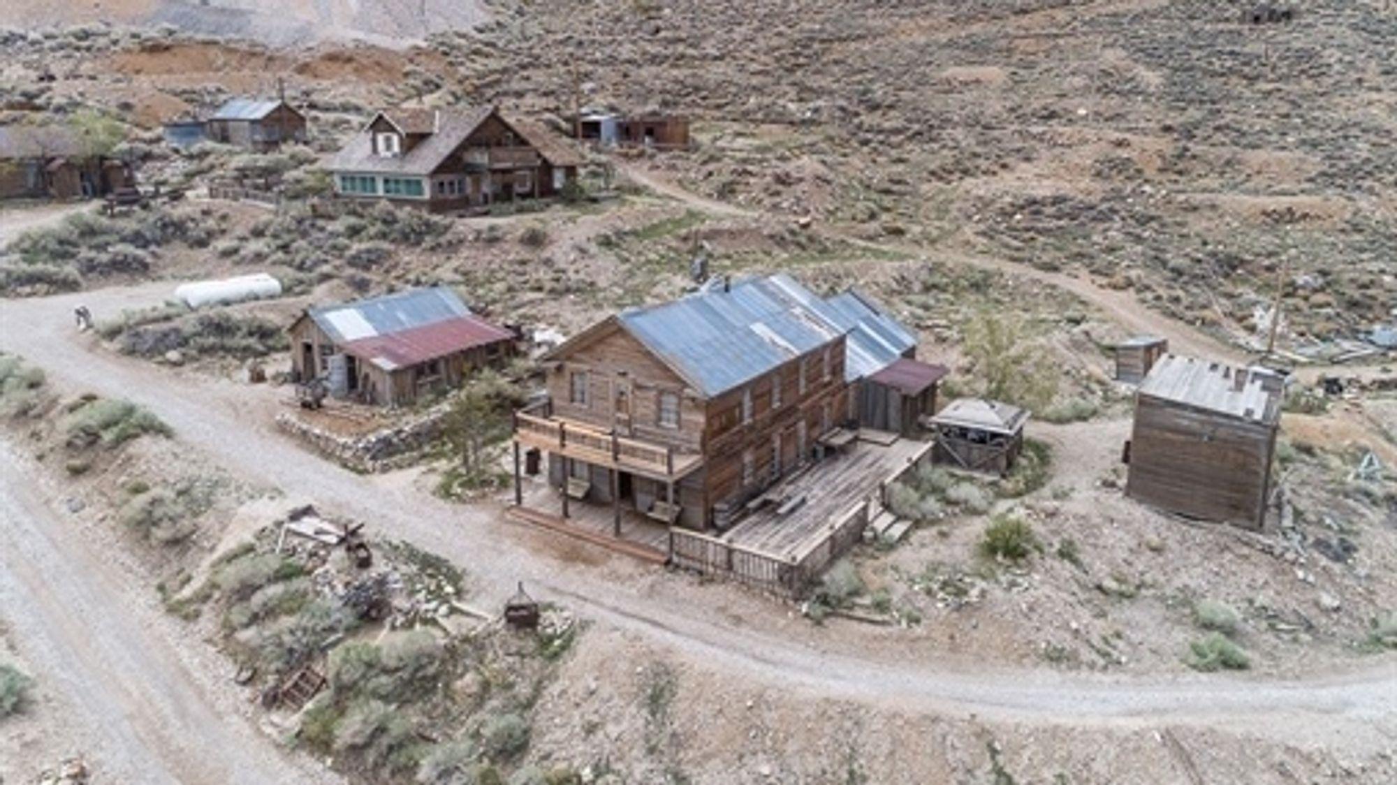 Gruvebyen Cerro Gordo.