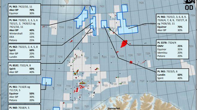 Deler ut nye leteområder i Norskehavet og Barentshavet