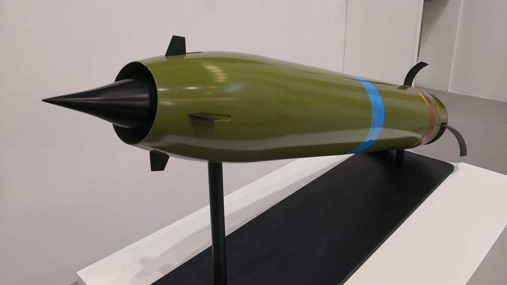 Nammos nye konsept for granater med ekstrem rekkevidde.
