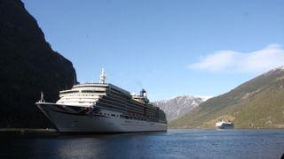 Cruisegigant vil overgå miljøforpliktelser - samarbeider med Bellona