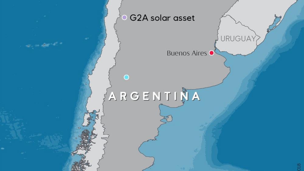 Equinor satser på solenergiprosjektet Guanizul 2A i Argentina.