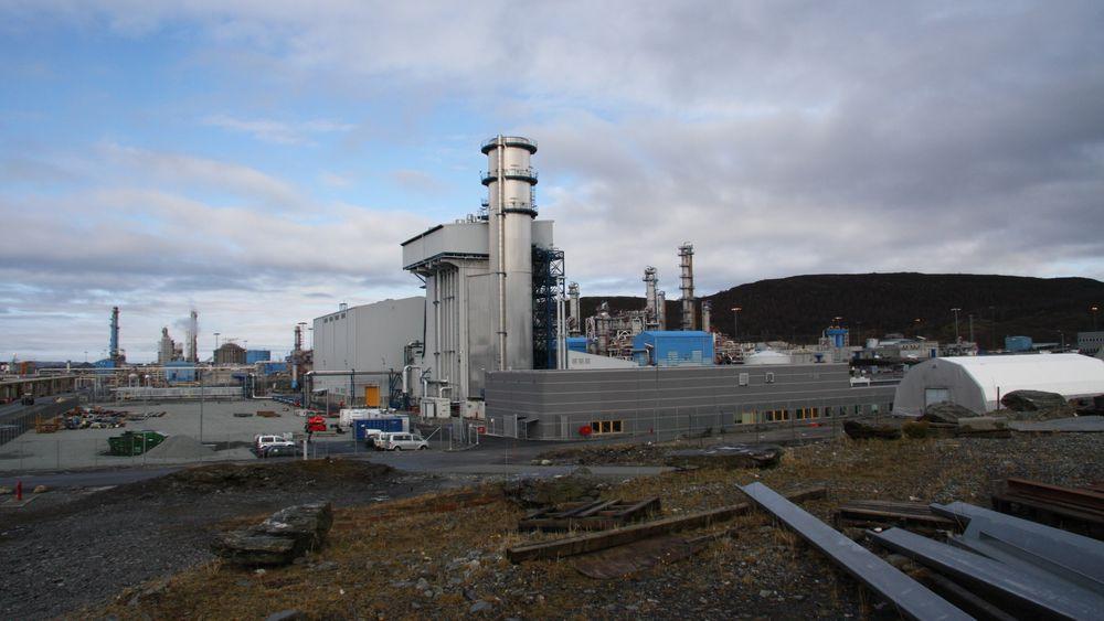 Kårtstø gasskraftverk.