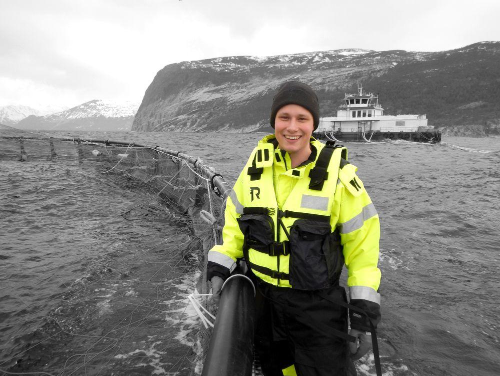 Bedre fôrkontroll: Daglig leder Bendik Søvegjarto i Cage Eye sier de har fått mange henvendelser om systemet siden det ble lansert på Aqua Nor i 2017.