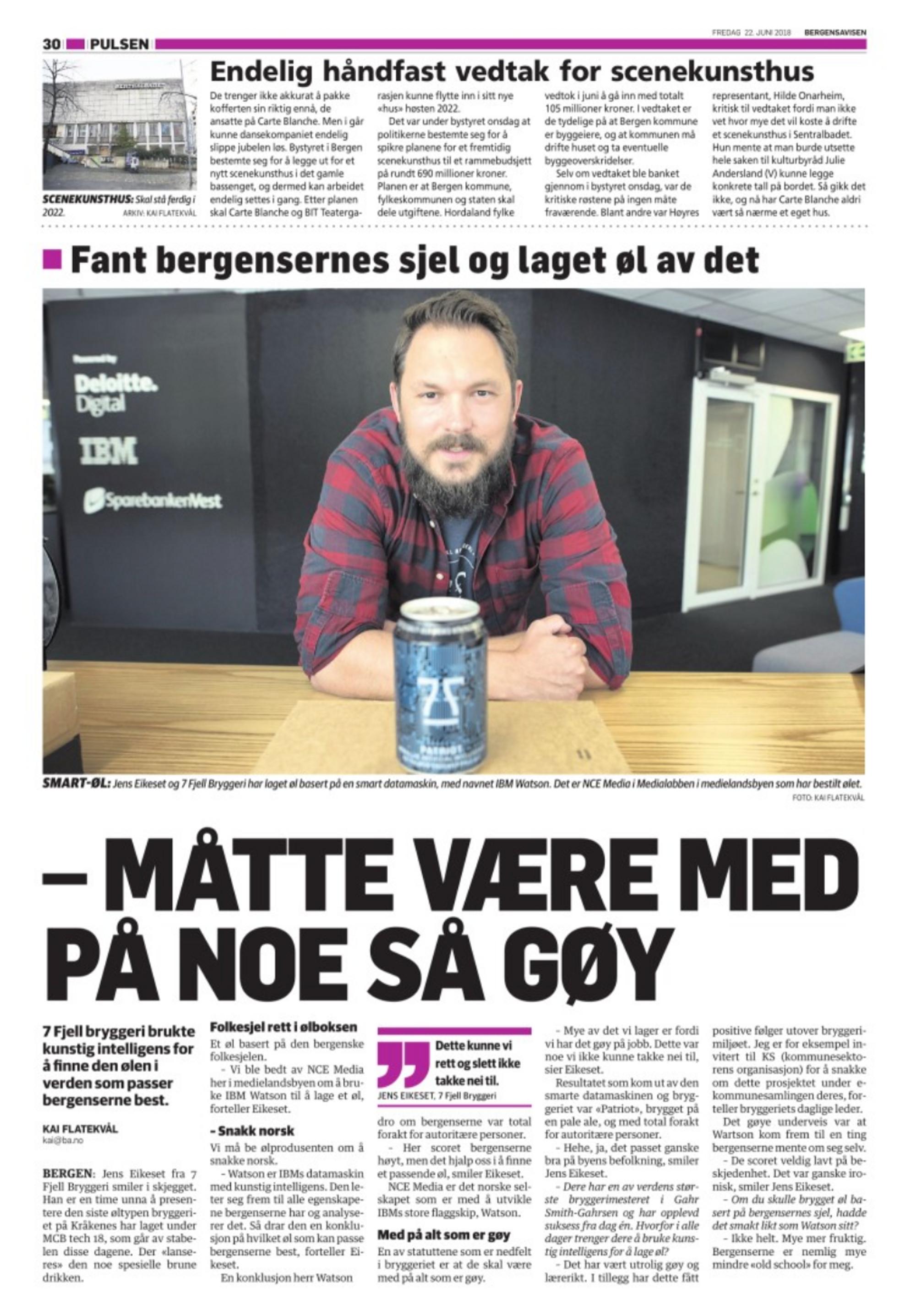 7f506a3c7 Leder for medieklyngen i Bergen syntes det var «langt mindre ...