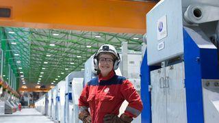 Nå er verdens mest energieffektive aluminiumsanlegg i full drift på Karmøy