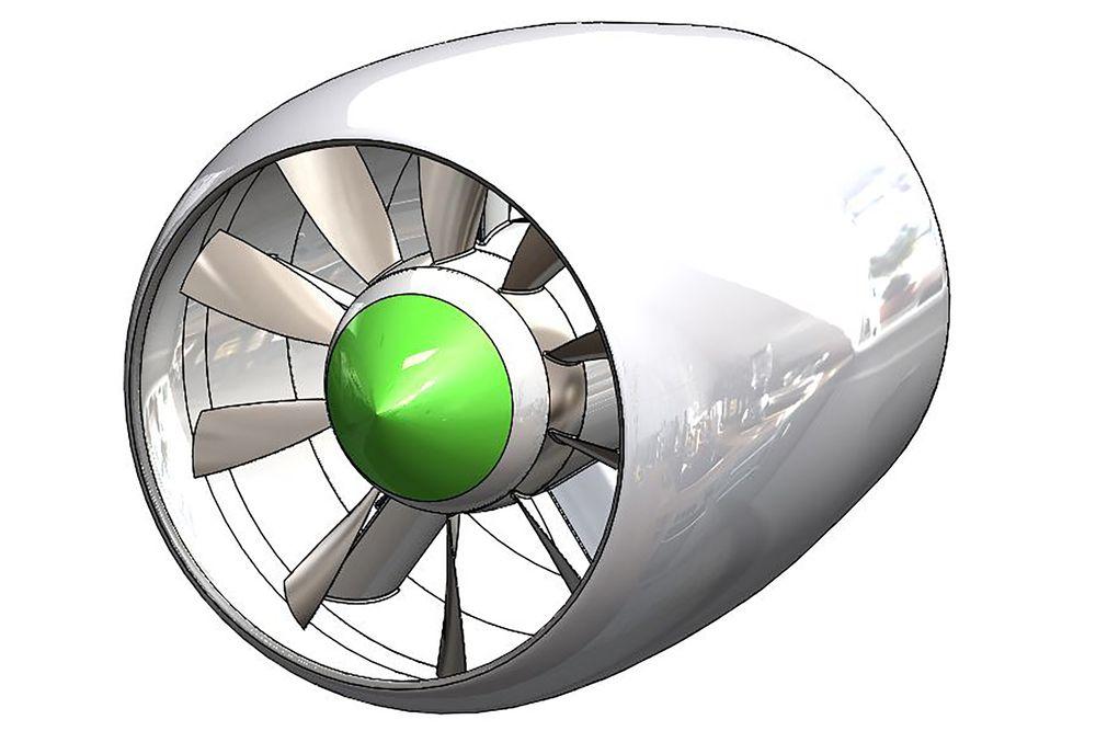 Den elektriske flymotoren som amerikanske Zunum er i ferd med å bygge vil ha ektremt høy virkningsgrad og svært lavt strøynivå.