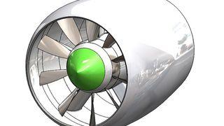 Designer fremtidens elektriske flymotor - med maks virkningsgrad og minimal støy