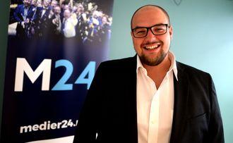 Ansvarlig redaktør og daglig leder Erik Waatland i Medier24.