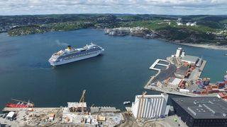 Kristiansand først ute: Europas største landstrømanlegg skal forsyne cruiseskip i august