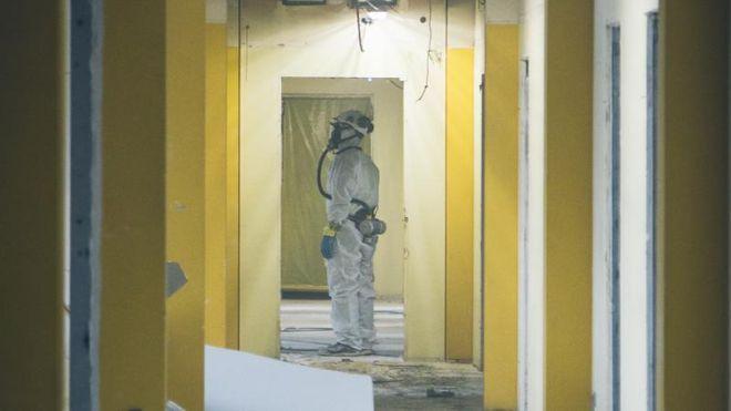 Byggeroboter skal fjerne farlig maling