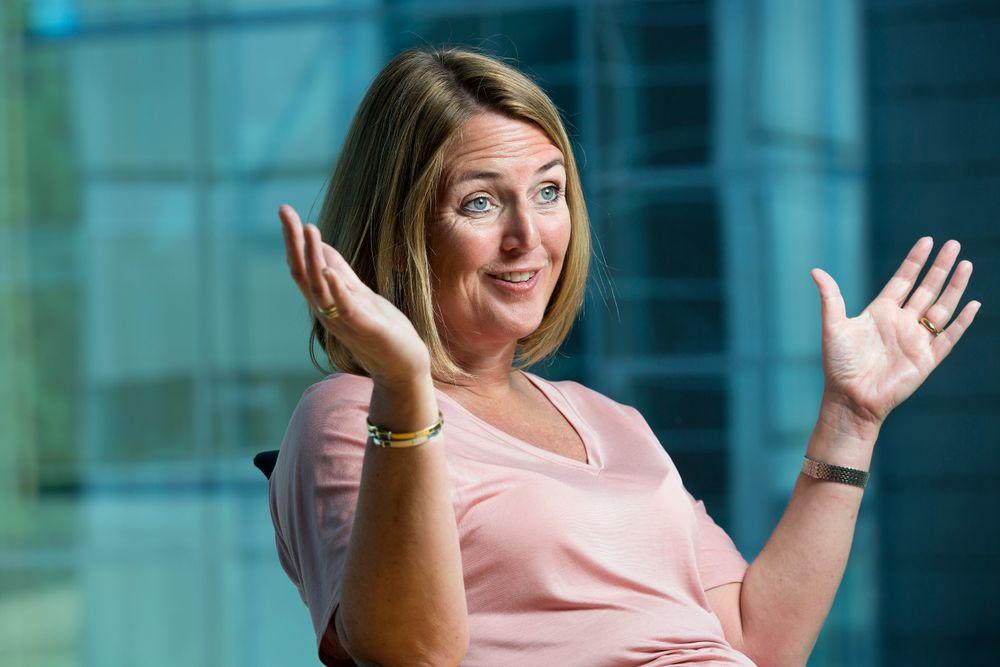 For mangfold: Grete Aspelund er én av tre kvinnelige landsjefer i Sweco-gruppen. I tillegg har hele konsernet kvinnelig CEO. Hun mener den mangfoldige ledelsen og solide kvinneandelen er av stor betydning for hele Sweco.