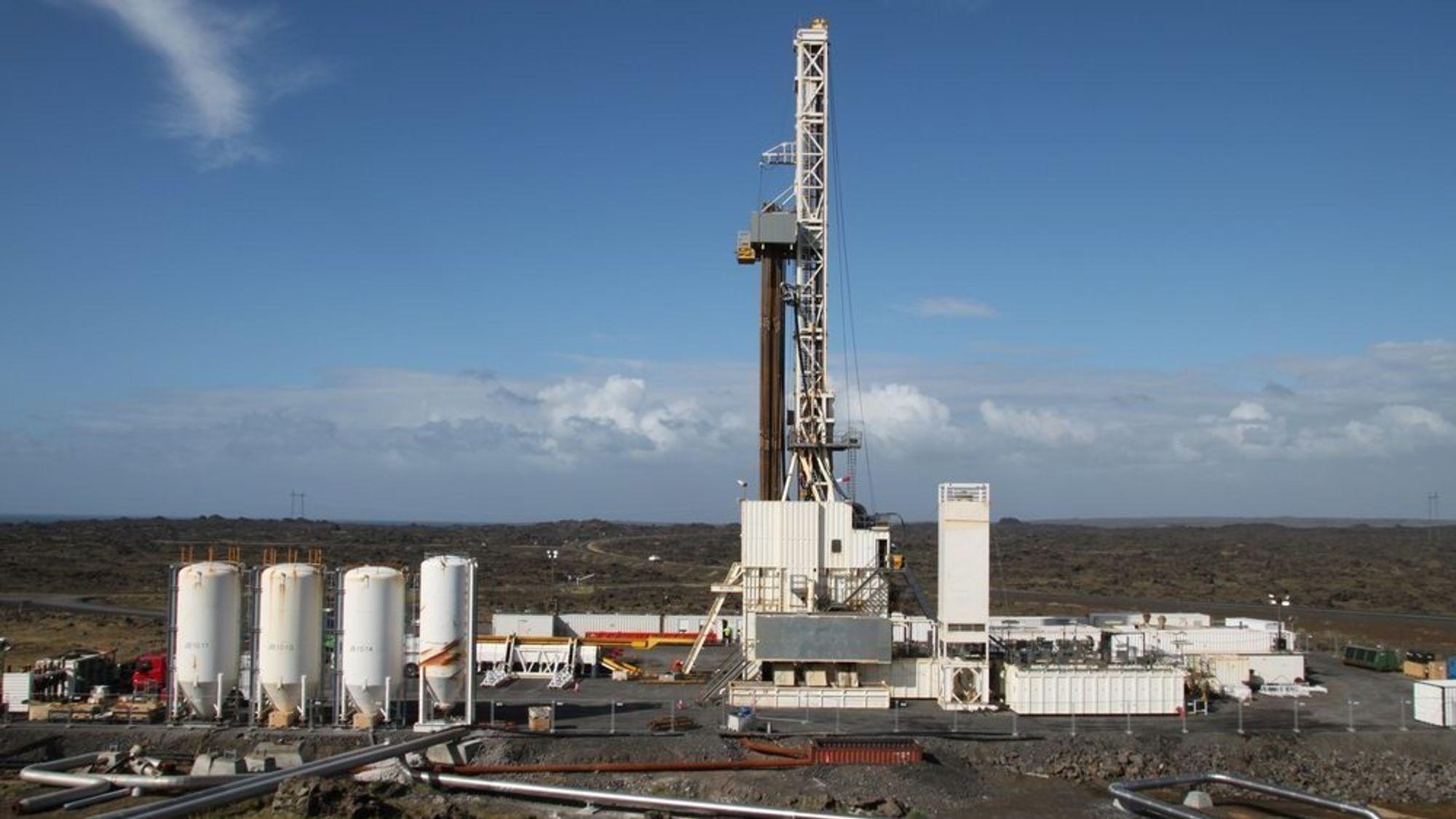 Equinor er blant selskapene som har begynt å se på geotermisk energi, hvor man utnytter varme fra jordas indre. Her fra da selskapet sammen med islandske partnere boret seg 5000 meter ned i bakken ved hjelp av Islands største borerigg Thor.