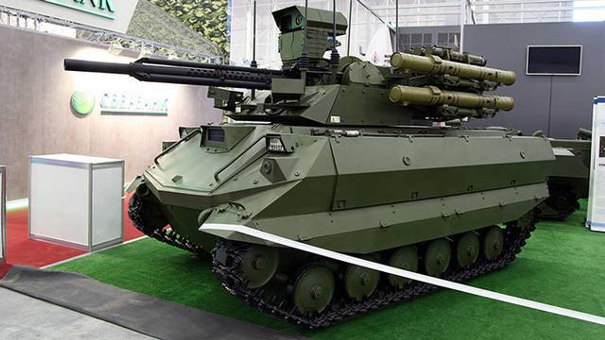 Det ble en lang liste med problemer for Russlands Tank-9 i Syria.