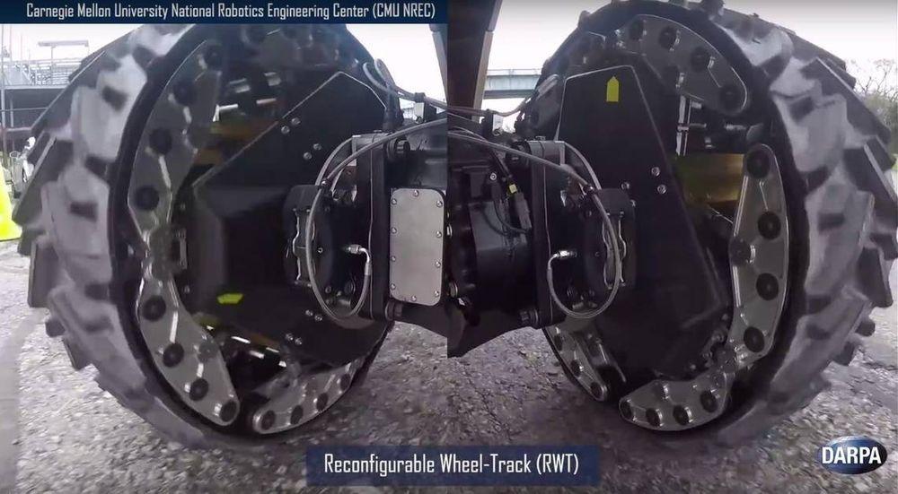 Ny militærteknikk «gjenoppfinner» hjulet – kan endre form etter underlaget