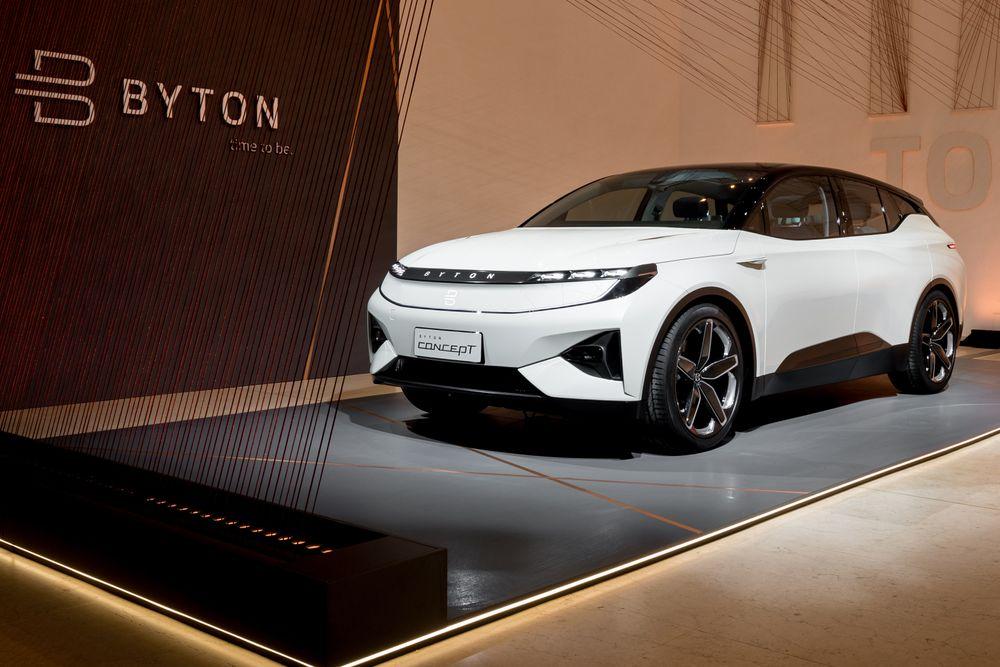 Mer enn en bil: Byton er en lukseriøs elbil, men også mye mer enn det, mener selskapet. Den skal være et nytt konsept for persontransport.