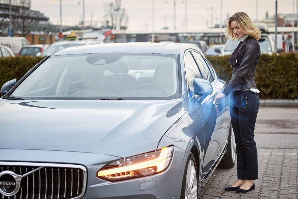 Ny bilnøkkel: Den nye teknikken skal være mye vanskeligere å hacke enn den nåværende signalteknikken som brukes av de fleste bilprodusentene.