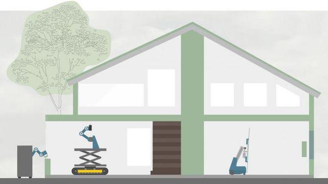 Robotene kommer til byggeplassen, og vil tvinge ingeniørene til å skjerpe seg