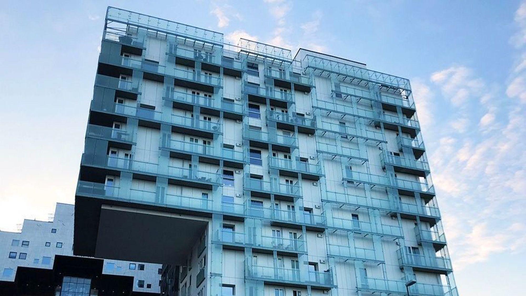 Prisene for leiligheter i borettslag har steget med 4,2 prosent hittil i år