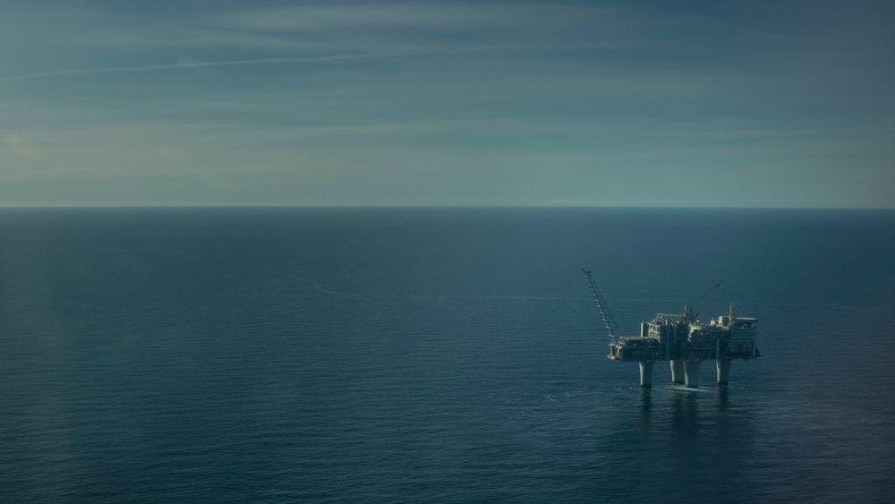 Olje- og energidepartementet utlyser areal for lagring av CO2 i nærheten av Troll-feltet. Bildet viser Troll A-plattformen.