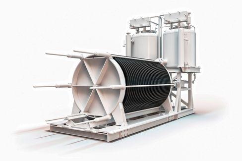 NEL vil ha kapasitet til å levere 160 elektrolysører av typen A485 når den nye fabrikken på Notodden er ferdig i 2019/2020.