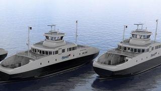Fjord 1 har fått garanti for finansiering av ni el-ferger
