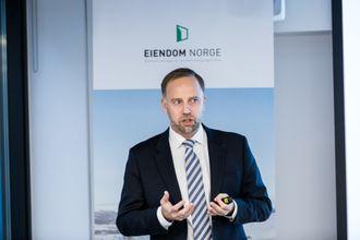 Christian Vammervold Dreyer i Eiendom Norge er kritisk til Høøyres manglende vilje til å fortette.