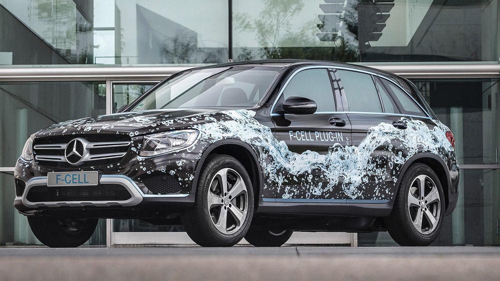 Hydrogenbilen Mercedes GLC F-Cell.