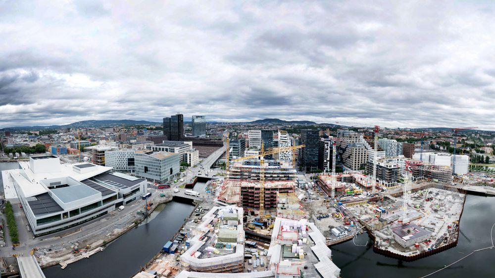 Fjordbyen er en suksess, mener direktøren i Plan- og bygningsetaten, Ellen de Vibe.