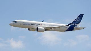 Etter en tur i lakkeringshallen hadde Airbus en helt ny flytype