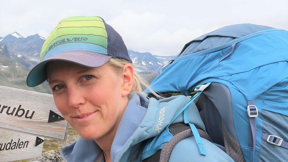 Guro Sverreng har gått i fjellet i sommer.