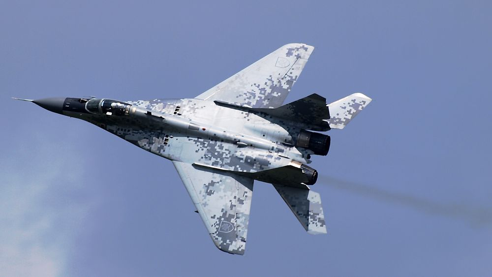Slovakisk MiG-29AS.