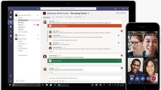 Microsoft lanserer gratis samhandling for bedrifter. Går rett i strupen på Slack