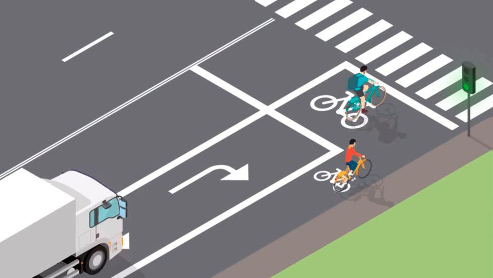 Ekstra veimerking skulle føre til færre konflikter mellom syklister og bilister. Forskning viser at ingen reel endring har skjedd.