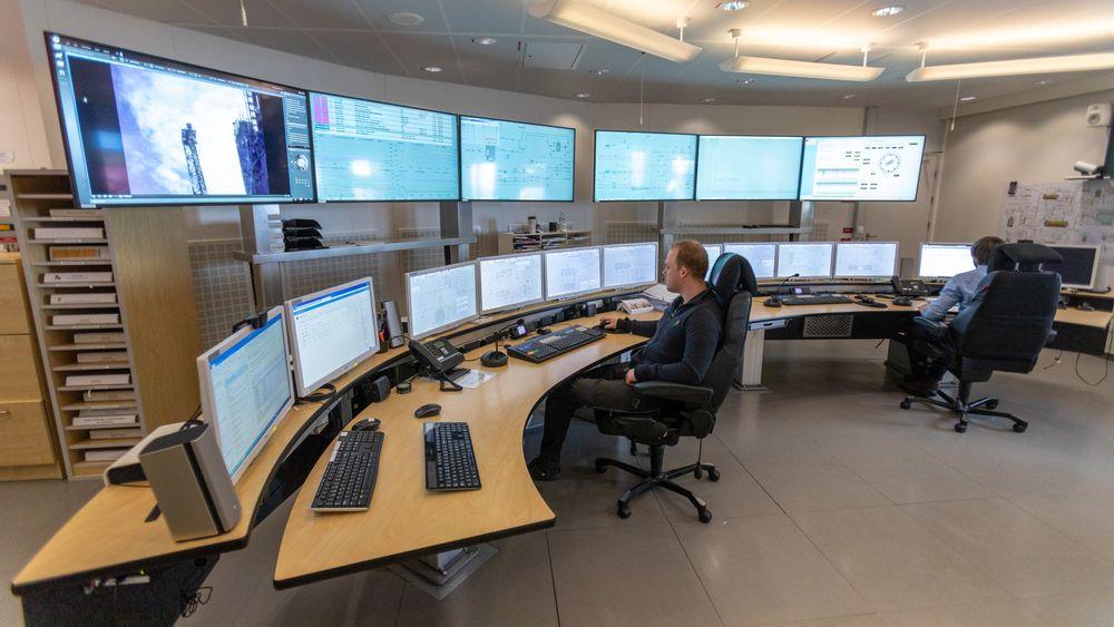 Driften styres fra et nytt kontrollrom i Trondheim.