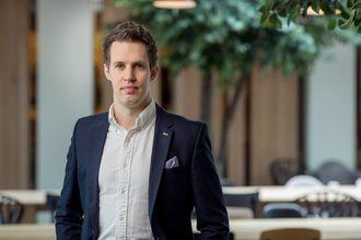 Tobias Lynghaug, leder av NITO Studentene.