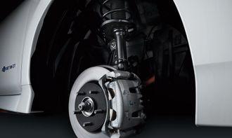 Nismo-utgaven får spesielle dempere og elektriske bremser.