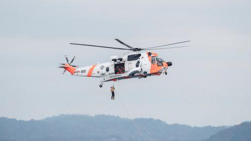 Illustrasjon. Sea King-helikopter.