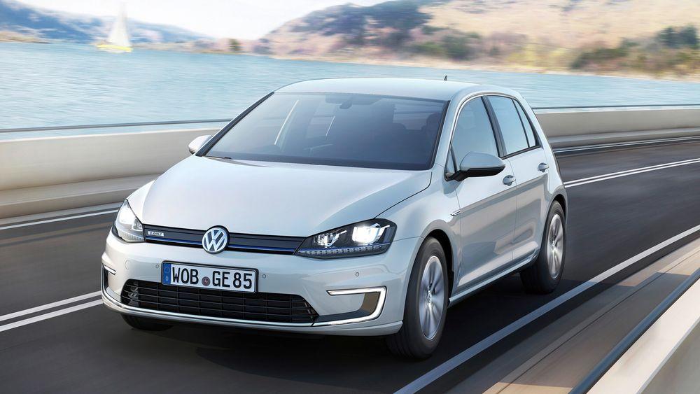 Volkswagen e-Golf er blant elbilene som får høyere produksjonstall.