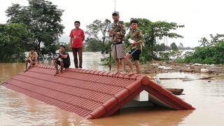 Demning tilknyttet byggeprosjekt i Laos brast – seks landsbyer er oversvømt