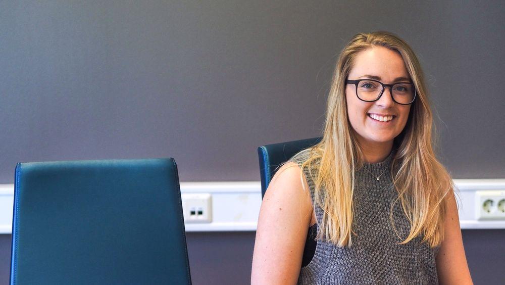 Andrea Holvik Thorson startet Gründerbrakka fordi oppstarten hennes manglet lokaler etter endte studier.