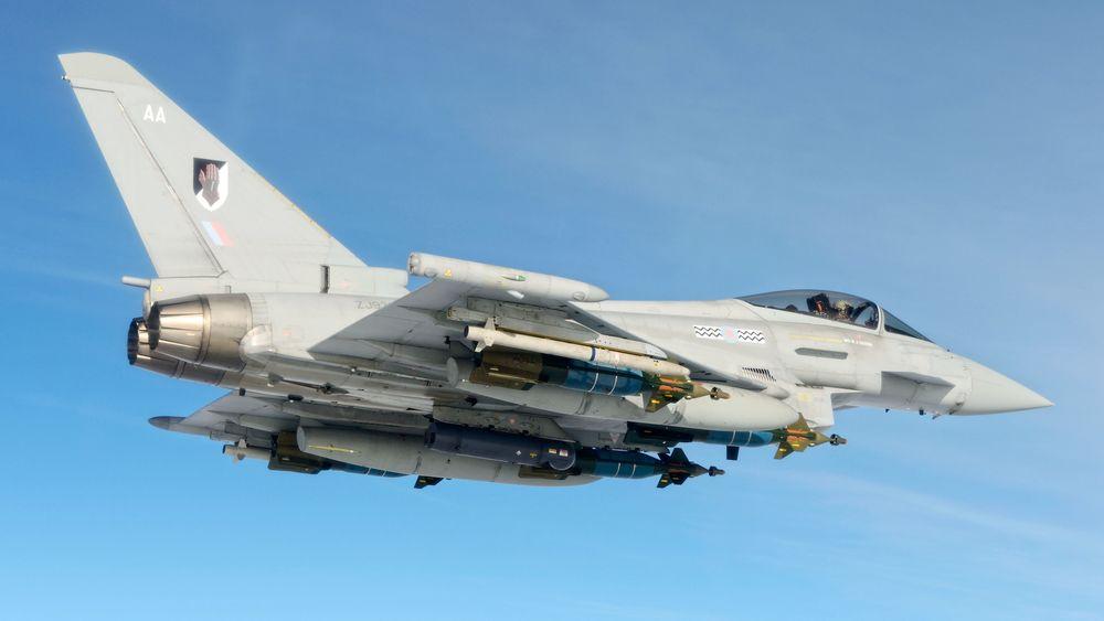 Storbritannia har bestilt siste generasjon av Saabs pyrotekniske mottiltak til kampflyet Eurofighter Typhoon.