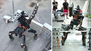 Trener fabeldyr-robot opp til å redde mennesker i nød